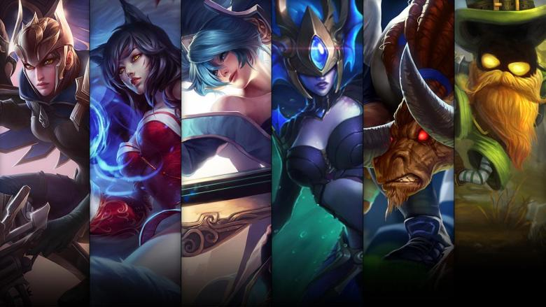 League Of Legends Champion Sale