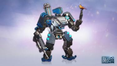 BlizzCon-themed Bastion skin for Overwatch