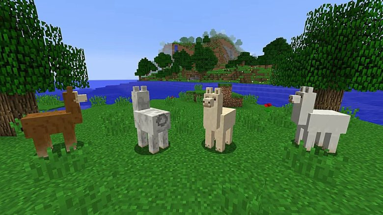 Minecraft How To Tame And Ride A Llama