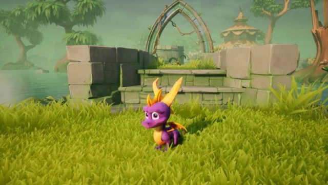 Spyro testa gigante con i trucchi