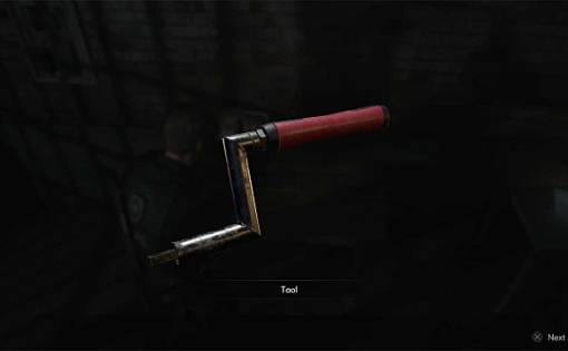 Dónde encontrar la manivela en Resident Evil 2