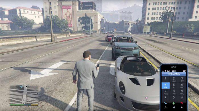 GTA 5 Trucos - Cómo conseguir vehículos y cambiar la meteorología del juego 5