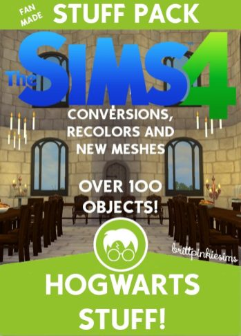 Los Sims 4 - Harry Potter (Mods) 33