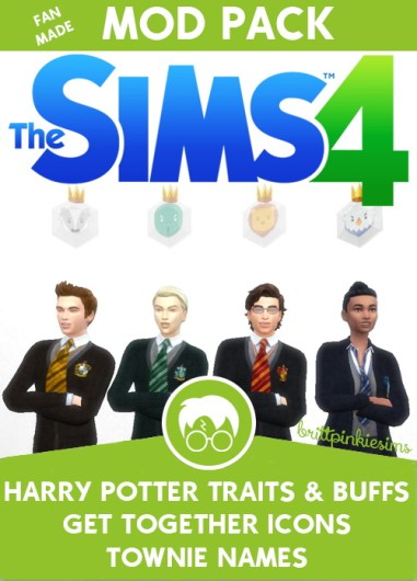 Los Sims 4 - Harry Potter (Mods) 11
