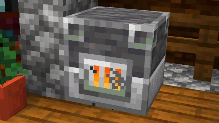 Minecraft - Cómo hacer un Alto Horno (1.14) 2