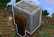 Minecraft - Cómo hacer una afiladora / amoladora (1.14) 8