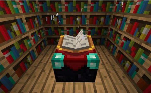 Minecraft - Cómo leer el lenguaje de la mesa de encantamientos 4