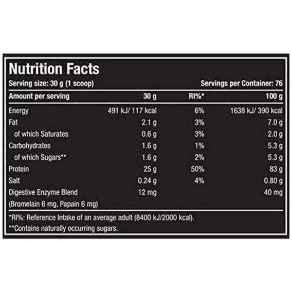 one-science-nutrition-premium-whey-nutritional-facts