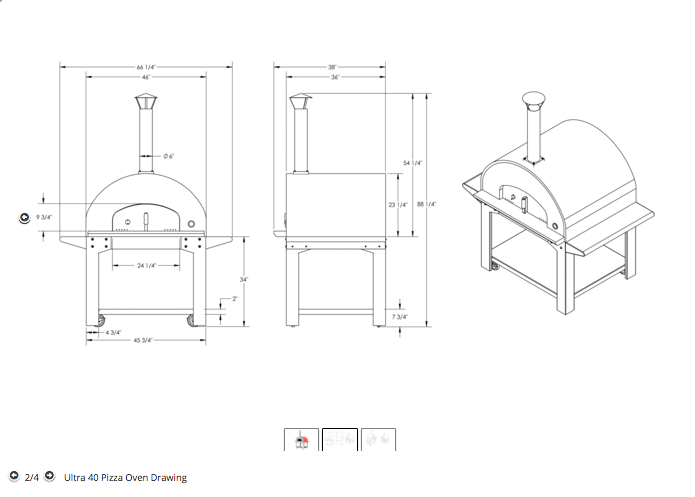 Commercial Pizza Oven Diagram. Catalog. Auto Parts Catalog