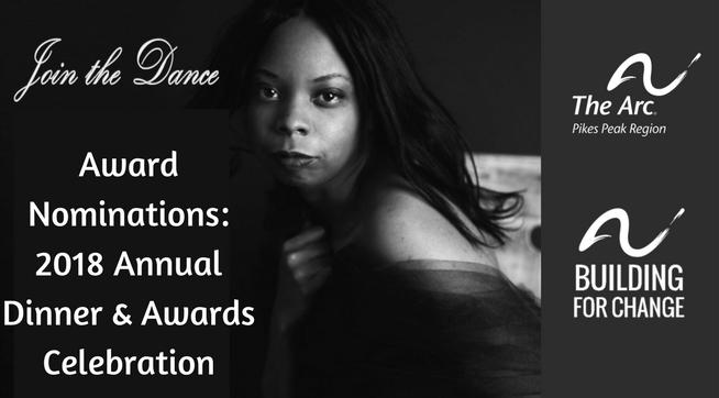 2018 Annual Dinner & Awards Celebration Award Nominations