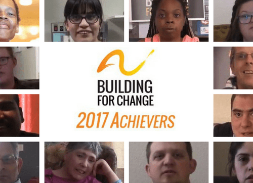 Image of 2017's Achievers, presented at the 2017 Annual Dinner & Awards Ceremony