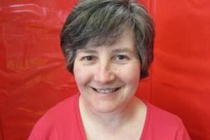 A photo of our teacher Carmel.