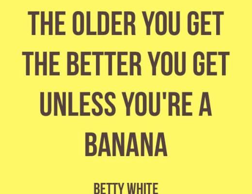 Getting older - Pinterest
