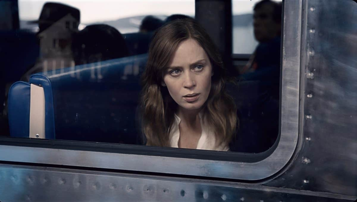 The girl on the train - Thearie