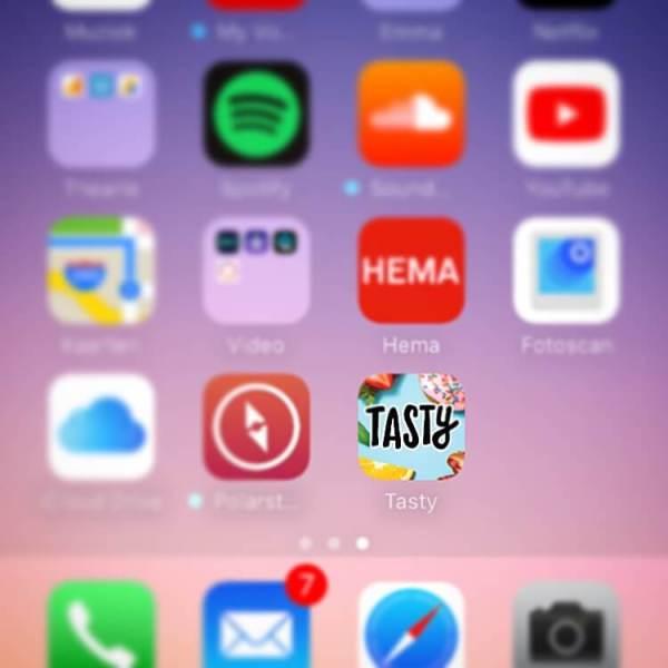 Tasty; een app op mijn telefoon   Thearie