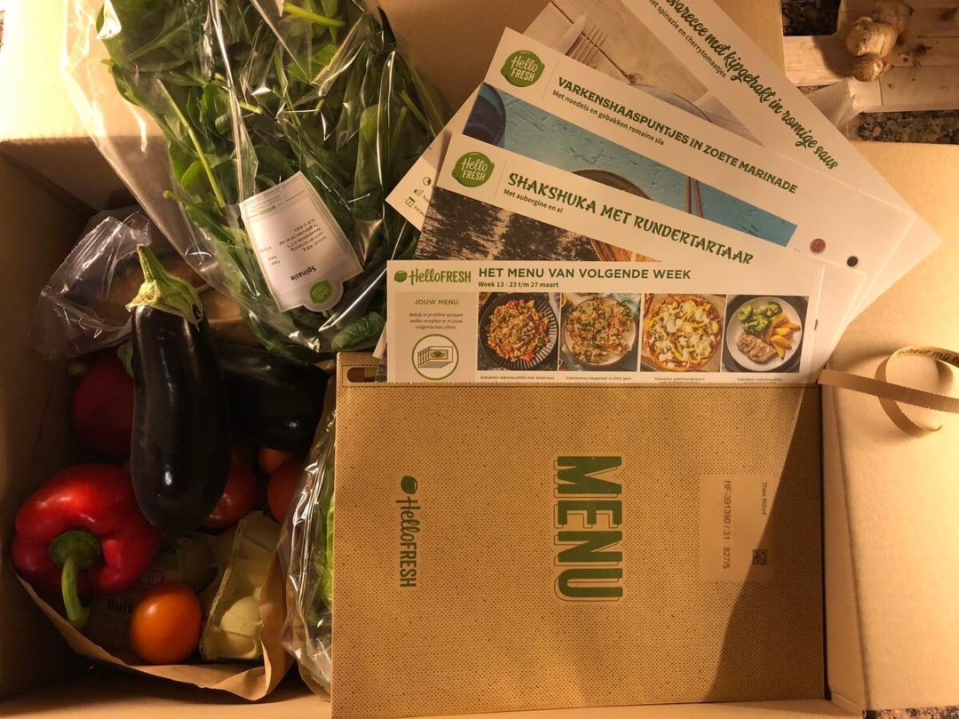 HelloFresh maaltijdbox