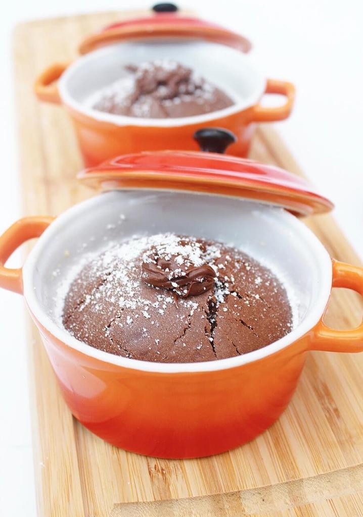 Nutella lava cakes Annabellas