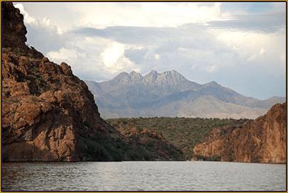 The Arizona Fishing Guides Saguaro Lake