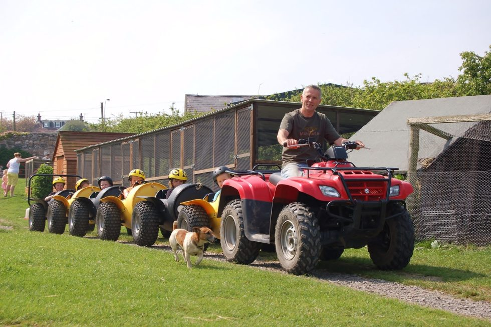 Quad Barrel Rides