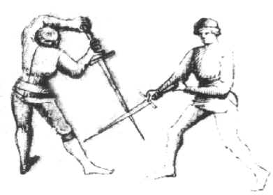 The Myth of Edge-On-Edge Parrying in Medieval Swordplay