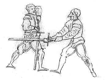 Парирование в фехтовании. Джон Клементс.