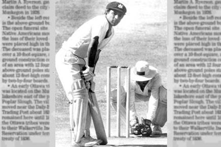 Sunil Gavaskar batting left handed against a left arm spinner - 5 of the most innovative tactics that were employed as a stopgap solution