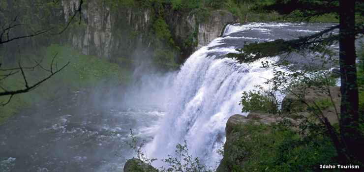 Mesa Falls Scenic Byway Open