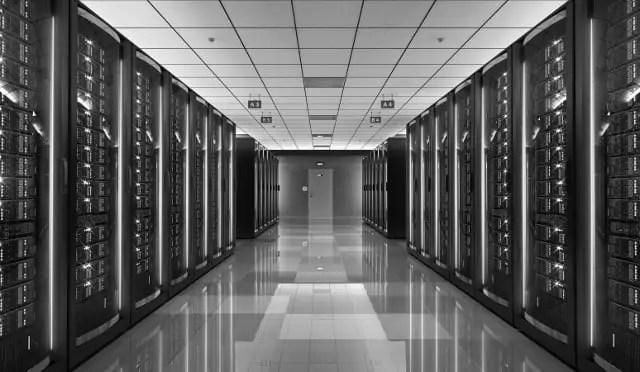 A Computer Server Room