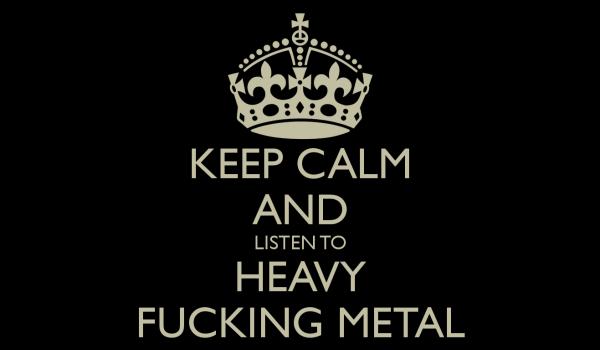 3% entspannen bei Heavy Metal
