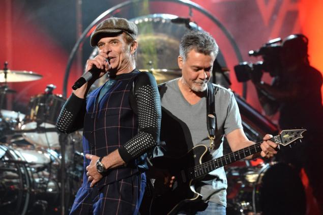 Van Halen Dave Eddie