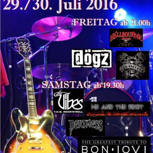 Waldrock Open Air 2016 Plakat