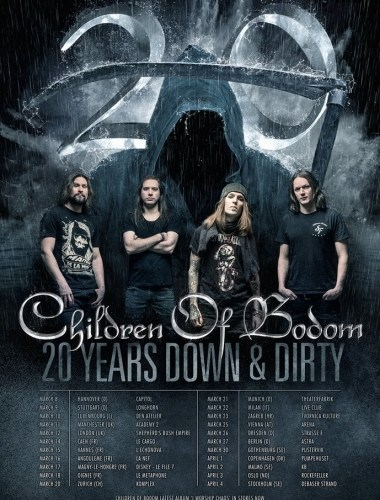 Children of Bodom Tour 2017