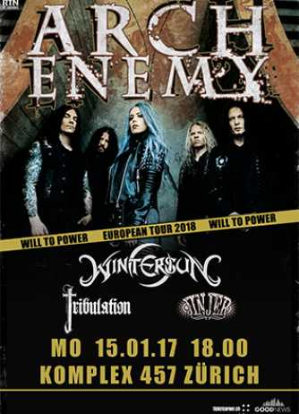 Arch Enemy Live 2018