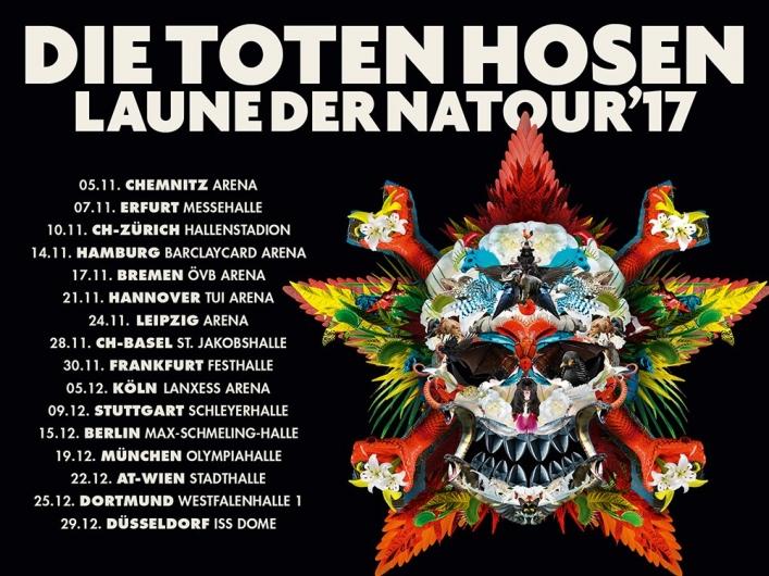 Die Toten Hosen Tour 2017