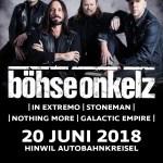 Böhse Onkelz Tour 18