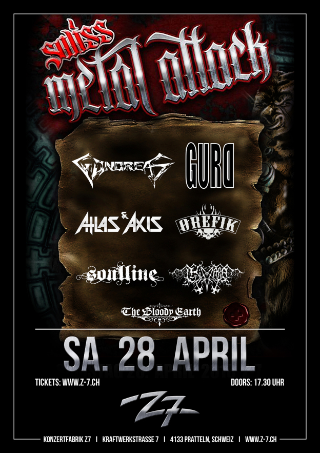 Swiss Metal Attack 2018