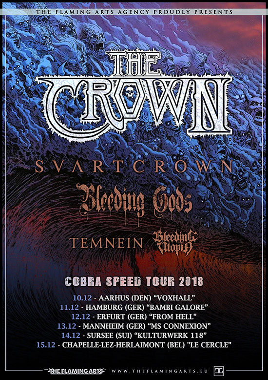 The Crown Tour 18