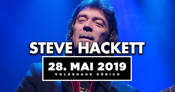 Steve Hackett kommt nach Zürich