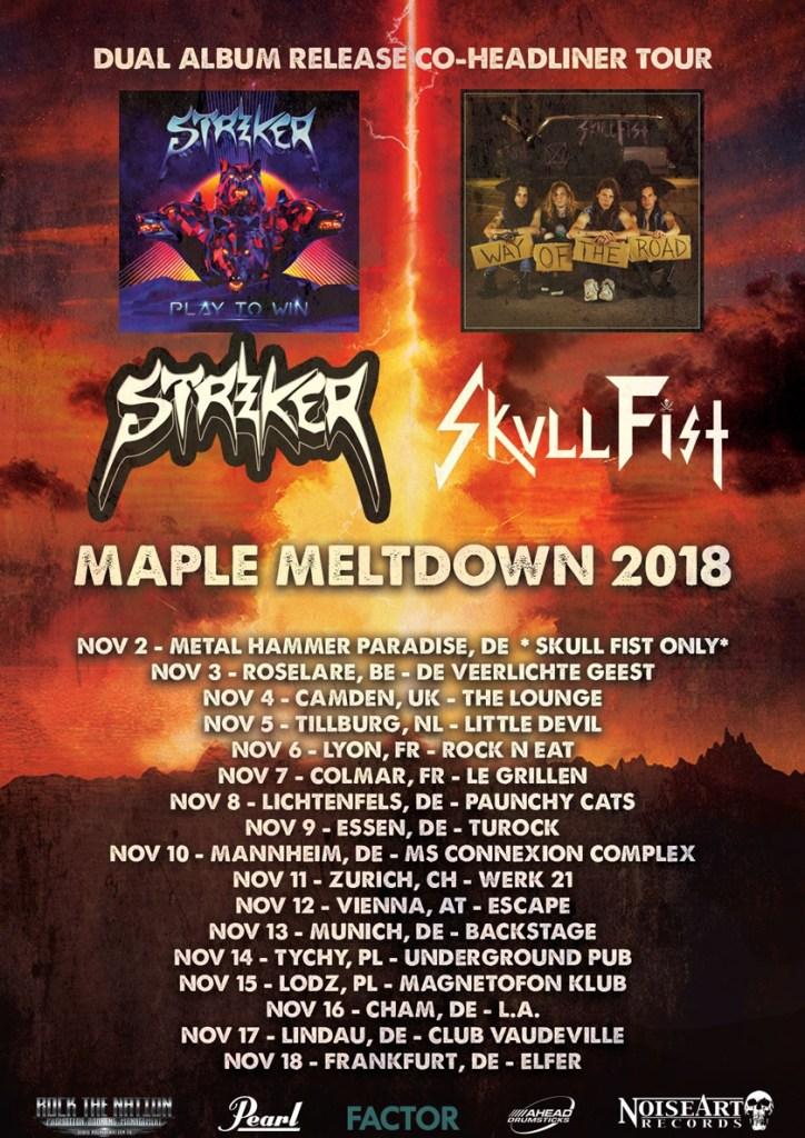 Striker Tour 2018