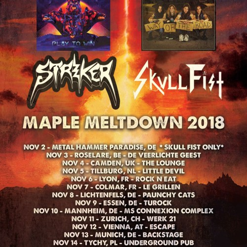Striker Tour 2018