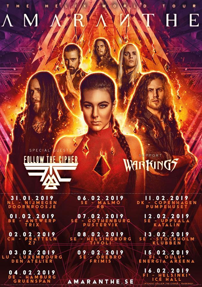 Amaranthe Tour