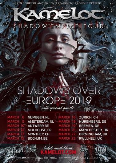 Kamelot Tour 2019