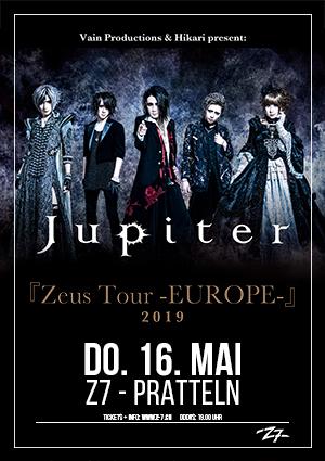 Jupiter Tour 2018