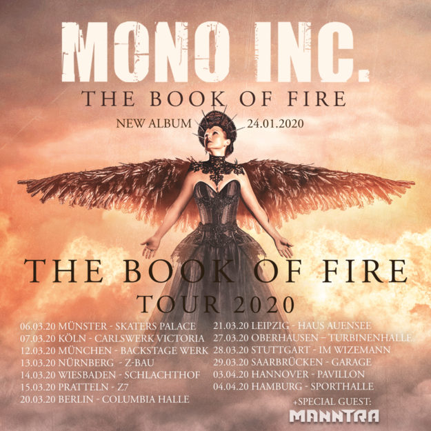 Mono Inc Tour 2020