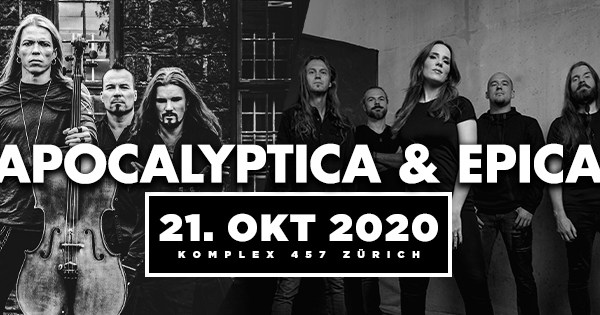 Symphonic-Metal-Bands Epica und Apocalyptica in der Schweiz