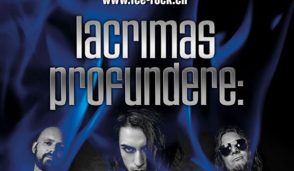 Lacrimas Profundere kommen ans Ice Rock Festival