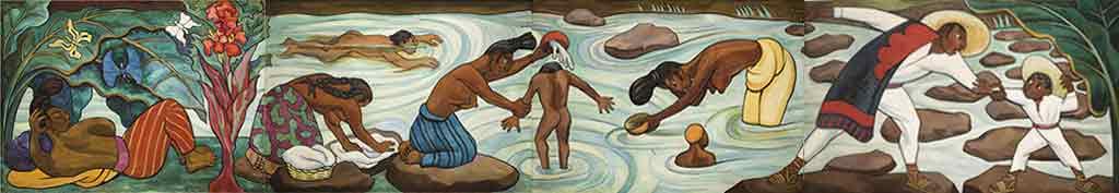 בלוג איריס עשת כהן מקסיקו – תערוכת ציורים / La Riviere juchitan Diego Rivera
