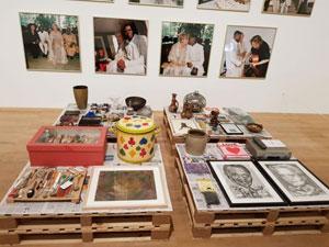 תיעוד טקס הנישואין עם האוצרות ההולנדית שלו , הפער בין התרבויות , מה כל אחד הביא איתו לחיי הנישואין אמן אפריקאי Me ac Gaba