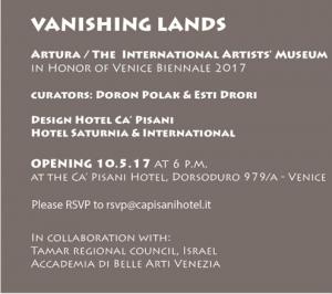 Vanishing Landsאיריס עשת כהן אמנית ישראלית