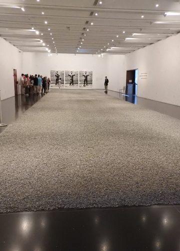 האמן איי ווי ווי במוזיאון ישראל בירושלים